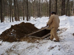 Winter burials available